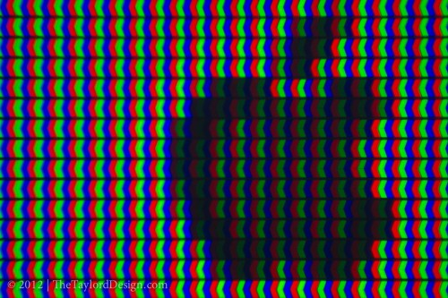 Shot of the pixels from my T.V.